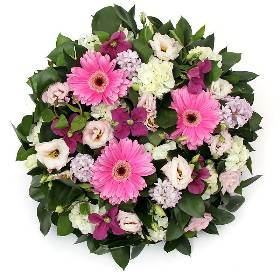Pink and White Posy Pad
